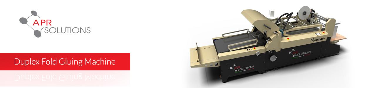 Duplex Fold Gluing Machine