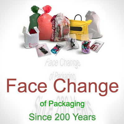 Face change of Packaging since 200 years