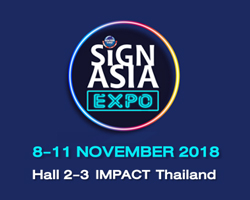 Sign Asia Expo 2018