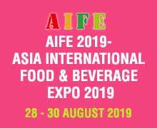AIFE 2019- Asia International Food & Beverage Expo 2019