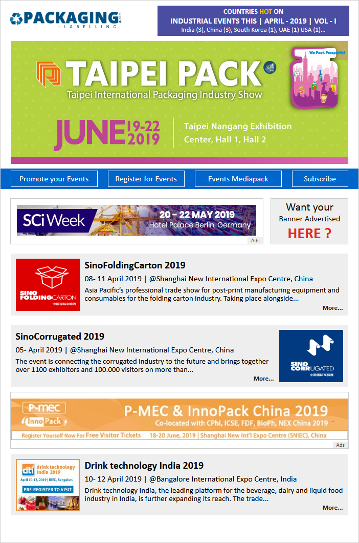 Apr-19 Event Newsletter Vol-1