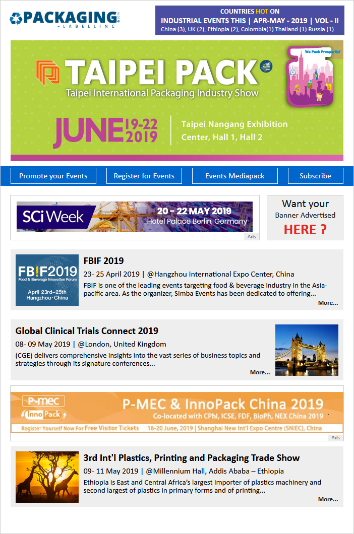 Apr-19 Event Newsletter Vol-2