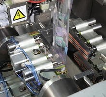 Rotary Vertical Form Fill and Seal (VFFS) Packaging System