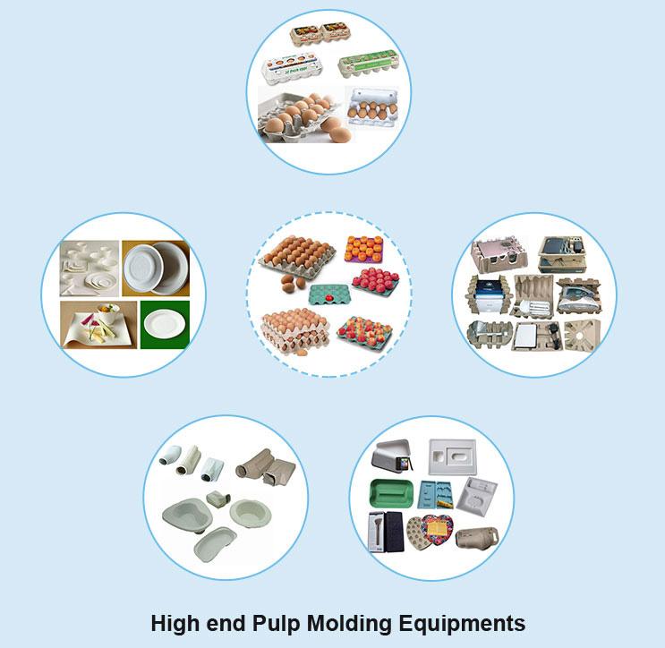 High end Pulp Molding Equipments