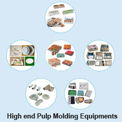 High end Pulp Molding Equipments