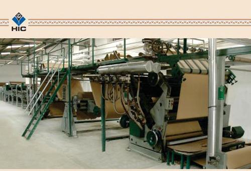 Combined Corrugating Machine