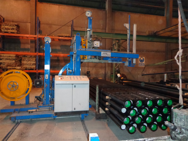 Pipe Strapping Machine