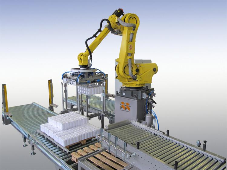 Depalletizing Robotic cell