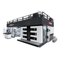 F4 Gearless Flexo Printing Press