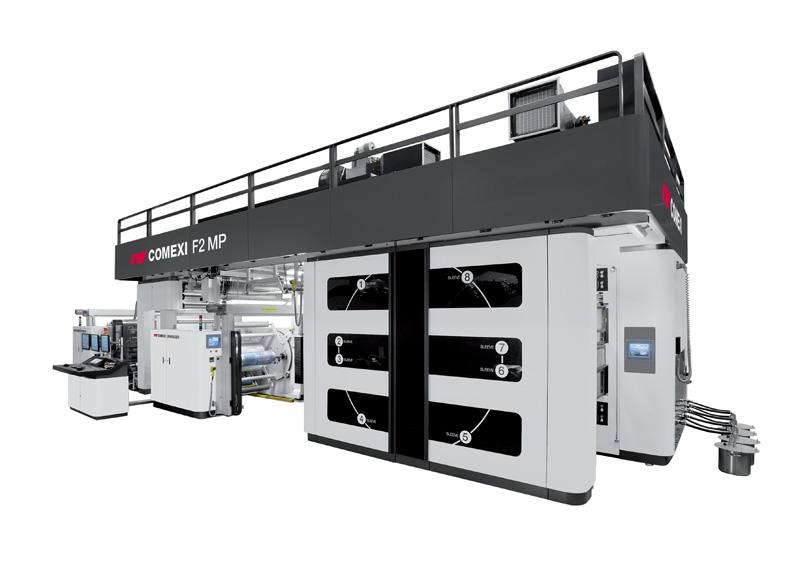 F2 MP Flexo Printing Press