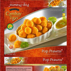 Cambay Tiger Pop Prawns