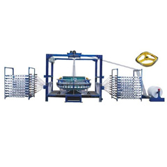 Oil-free little cam 6 shuttle circular loom