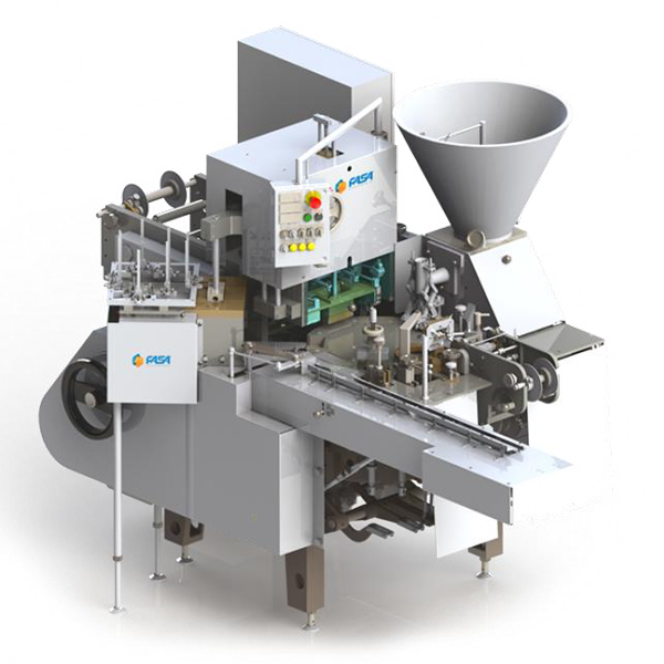 Processed cheese packaging and cartoning machine - AR6U