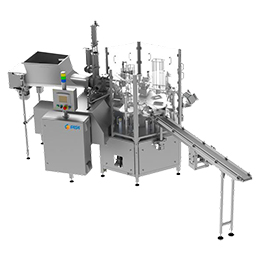 Cup or tub filling and sealing machine - ARI-P