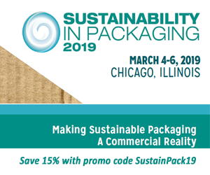Sustainability in Packaging 2019