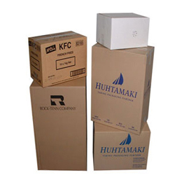 custom shipping and corrugated printed boxes