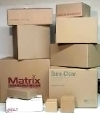 Used Corrugated and Shipping Boxes