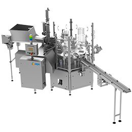 Cup or tub filling and sealing machine-ari-p