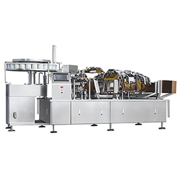 automatic pouch and bag filling machine