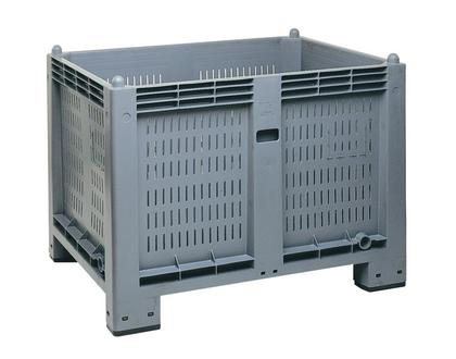Perforated Hygienic Plastic Container 565 liters