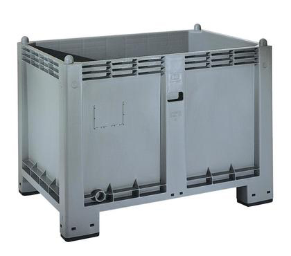 Solid Hygienic Plastic Container 565 liters