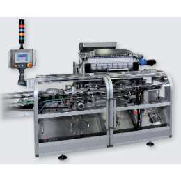 Vertical carton filler for gums and candies