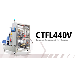 CTFL 440V - Compact Corrugated Tray Former