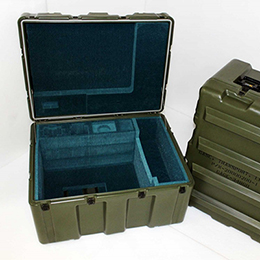 Rotational Molded Single Lid Transit Cases