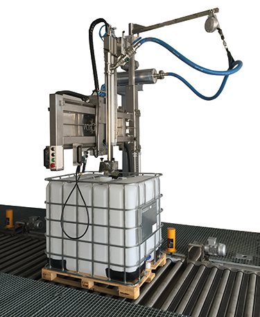 Semiautomatic filling machine – SP2