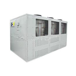 Air Cooled Low Temperature Screw Chiller dual Compressors 135HP To 1