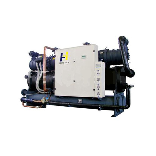 Water Cooled Low Temperature Screw Chiller 30kw to 160kw
