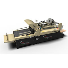 Compact Folding and Gluing Machine