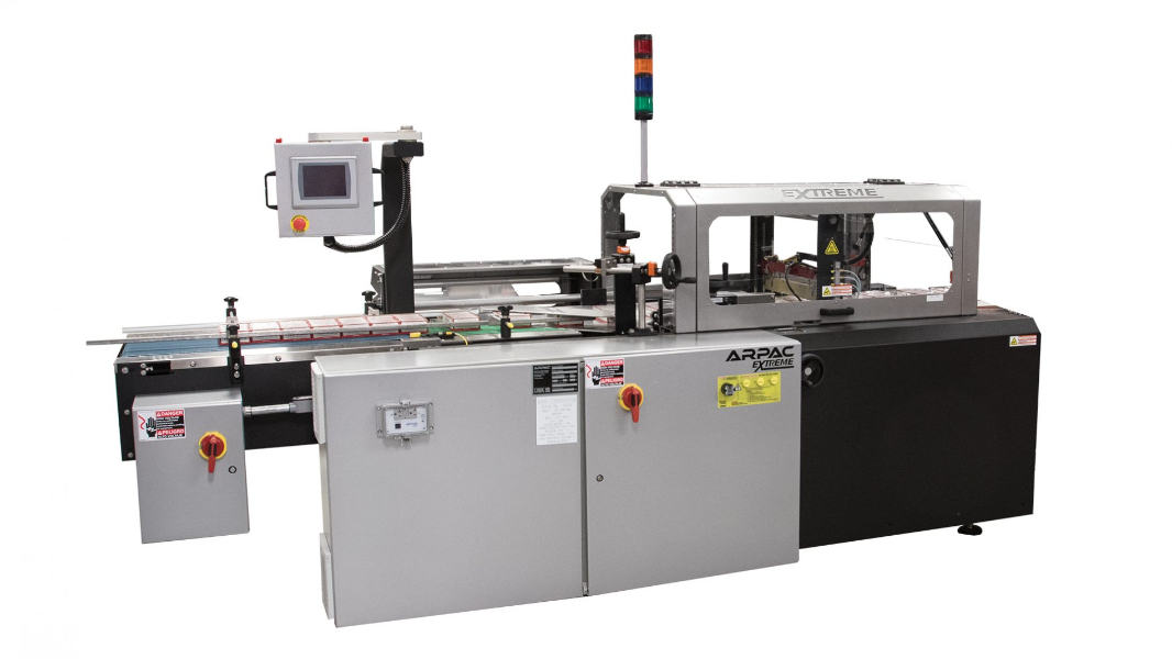 S SERIES - Dual Axis Servo Controlled Wrappers