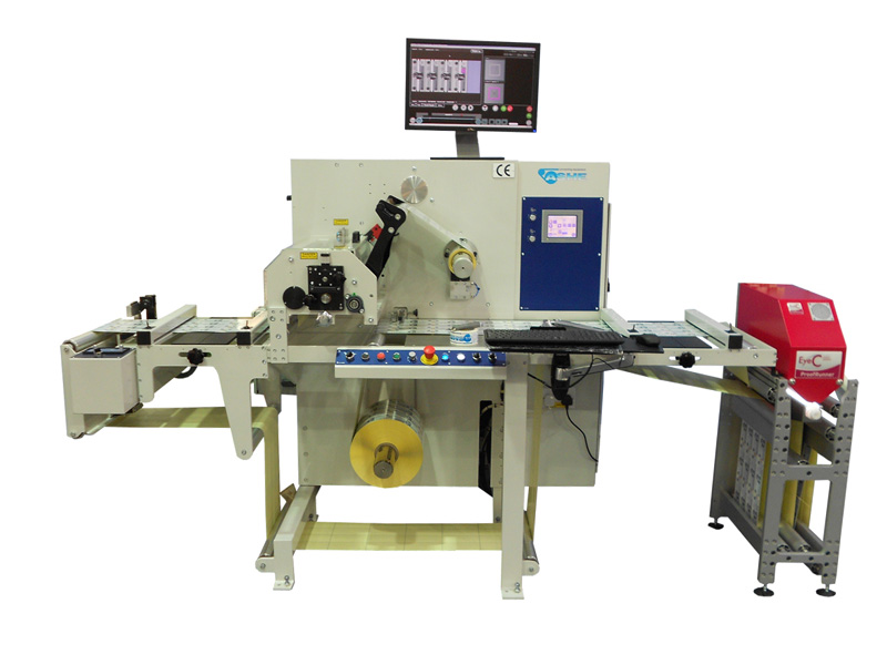Label Inspection Slitter