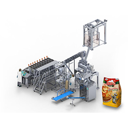 Multi line curd packing machine