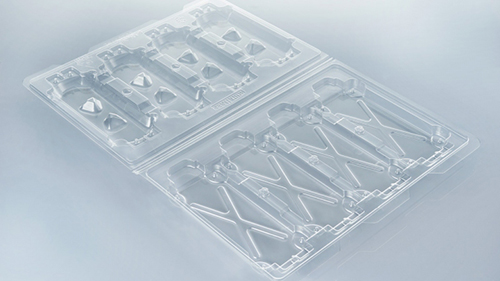 Transparent ESD packaging