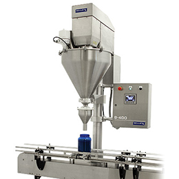 b-400-b-500 single or dual head auger filler