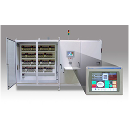 ELECTRICAL CONTROL PANEL WITH HMI MENU