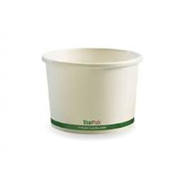 8oz white biobowl