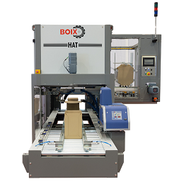 Boix HAT Machine for lidding boxes