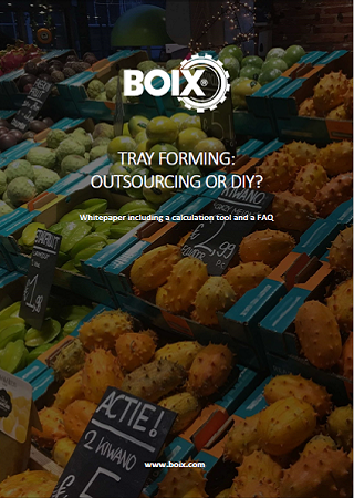 Whitepaper about forming trays: Outsourcing vs. Doing it yourself?