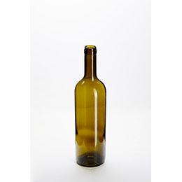750ml Bordeaux Wine Bottle Dead Leaf