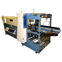 Automatic in line bundle wrapping machine ilw-653