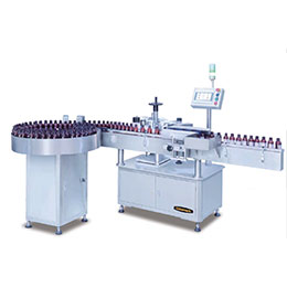 Vertical Round Bottles Labeling Machine A101
