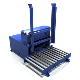Fork-Type Pallet Dispenser
