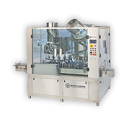 High Speed Rotary Dry Syrup 16X8 Powder Filling & Capping Machine Dryfill-120RC