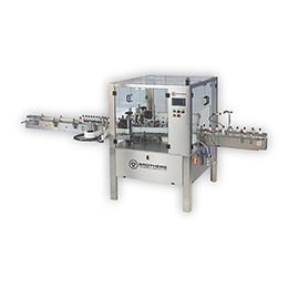 Automatic Two Side (Front and Back ) Flat Bottle Sticker Labelling Machine Labelstik-100F.Twin
