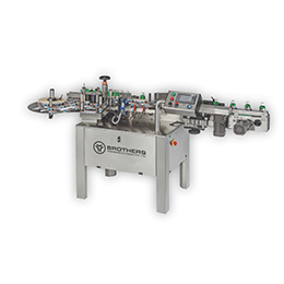 LABELSTIK-150  Automatic Round Product Labelling Machine