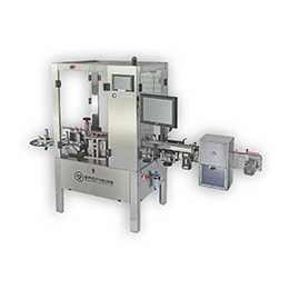 LABELSTIK-300  Automatic High Speed Round Product Labelling Machine