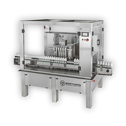 Automatic Six Head Liquid Bottle Filling Machine LIQFILL-120